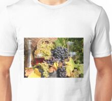 grape and wine  Unisex T-Shirt