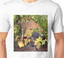 vineyard red and white wine Unisex T-Shirt