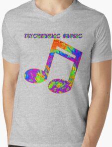 Psychedelic Rock 2 Mens V-Neck T-Shirt