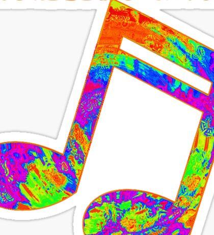 Psychedelic Rock 2 Sticker