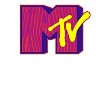 MTV Logo Photographic Print