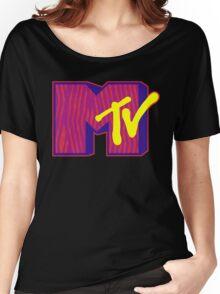 MTV Logo Women's Relaxed Fit T-Shirt