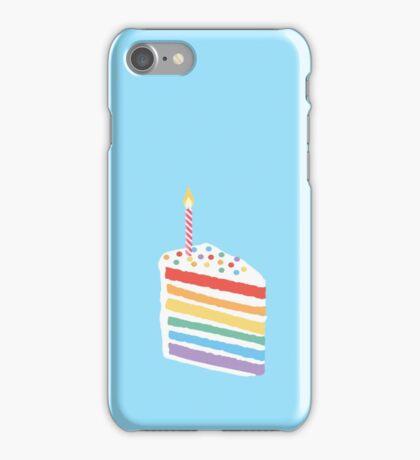 Seven Layer Cake_Blue iPhone Case/Skin