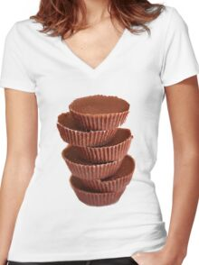 Reese's Women's Fitted V-Neck T-Shirt