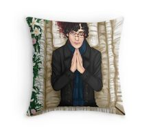 Sherlock Casket Throw Pillow