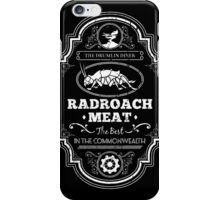 Drumlin Diner Radroach Meat iPhone Case/Skin