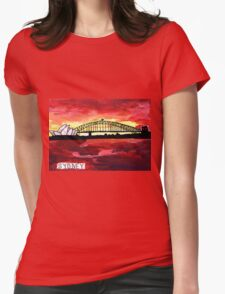 Sydney Sunset Womens Fitted T-Shirt