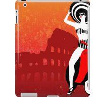 Vespa Woman iPad Case/Skin