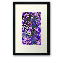 Blue Cat Fish Framed Print