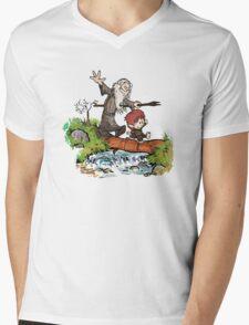 Hobbit O Mens V-Neck T-Shirt