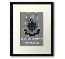 ODST - Feet First Into Hell Framed Print