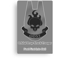 ODST - Feet First Into Hell Canvas Print