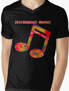 Psychedelic Rock 1 Mens V-Neck T-Shirt