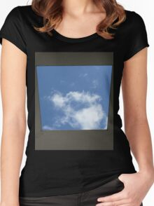 Skyspace by James Turrell (Yorkshire Sculpture Park) Women's Fitted Scoop T-Shirt