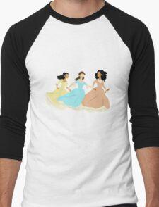 the schuyler sisters Men's Baseball ¾ T-Shirt