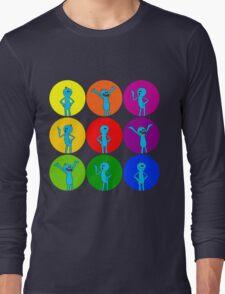 Meeseeks Bubbles Long Sleeve T-Shirt