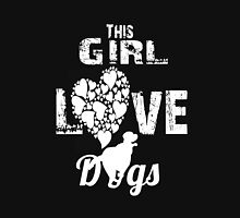 Girls love dogs Women's Fitted Scoop T-Shirt