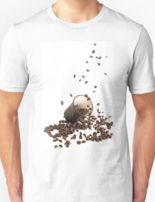 Spilt coffee Unisex T-Shirt