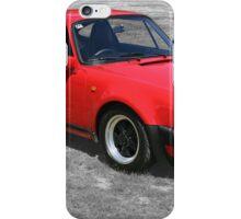 1985 Porsche 911 Turbo/Porsche 930 iPhone Case/Skin