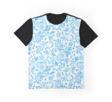 Abstract floral watercolor pattern.  Graphic T-Shirt