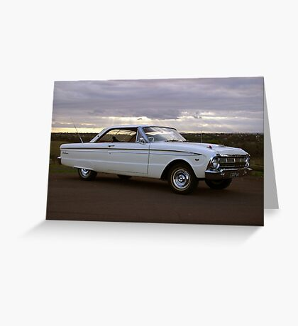 1964 Ford XM Futura Hardtop Greeting Card