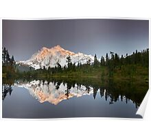 Mount Shuksan in the Fall Poster