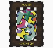 Maths Genius Kids Tee