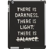 NO BALANCE iPad Case/Skin
