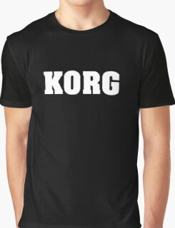 White Korg Graphic T-Shirt