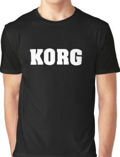 White Korg Graphic T-Shirt