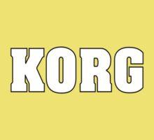 White Korg One Piece - Short Sleeve