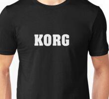 White Korg Unisex T-Shirt