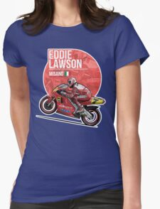 Eddie Lawson - 1991 Misano Womens Fitted T-Shirt