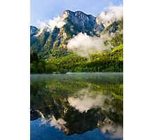 Wells Peak reflected in Silver Lake Photographic Print