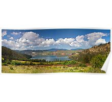 Kalamalka Provincial Park Panoramic Poster