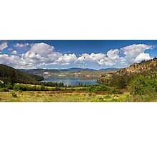 Kalamalka Provincial Park Panoramic Photographic Print