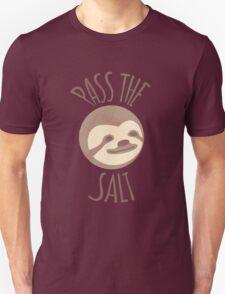 Stoner Sloth - Pass the salt (male) Unisex T-Shirt