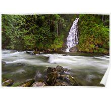 Eureka Falls and Silverhope Creek Poster
