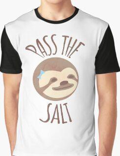 Stoner Sloth - Pass the salt (female) Graphic T-Shirt