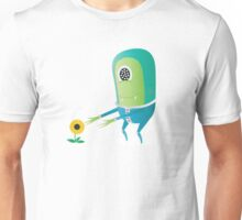 Alien and Flower Unisex T-Shirt