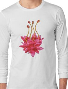 Painted Flower Long Sleeve T-Shirt