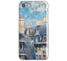 Roofs of Montmartre iPhone Case/Skin