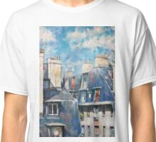 Roofs of Montmartre Classic T-Shirt