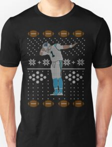 Cam Newton Dab Ugly Christmas T-Shirt