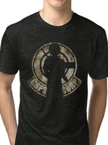 Capsule Corps. Logo Future Trunks Silhouette Tri-blend T-Shirt