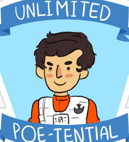Poe-try Sticker
