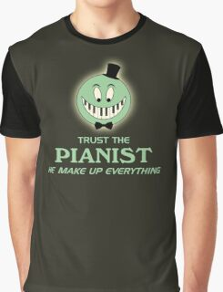 Trust The Pianist Graphic T-Shirt