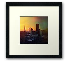 Sun's Coming Up Framed Print