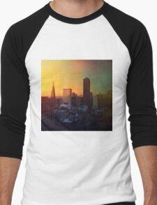 Sun's Coming Up Men's Baseball ¾ T-Shirt