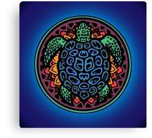 Turtle Amazing Mandala! Canvas Print